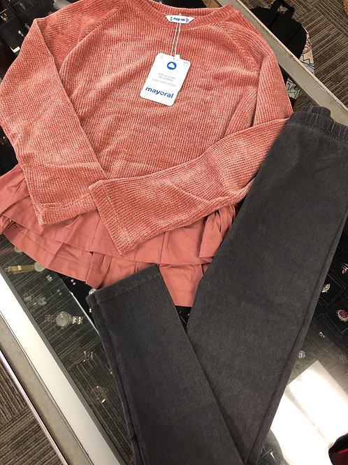 Mayoral Sweater & Legging Set