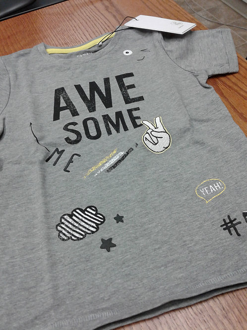 Name It t-shirt, awesome