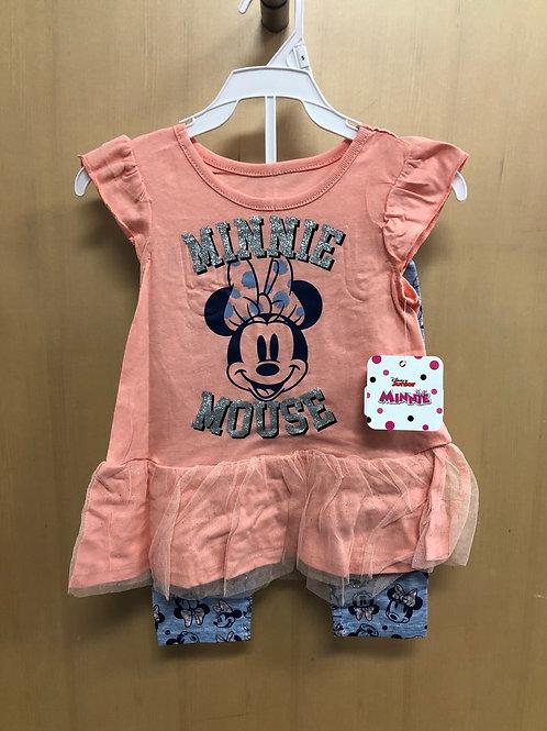 Minnie Mouse Capri set