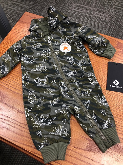 Converse Hooded Coverall, NB -  9m