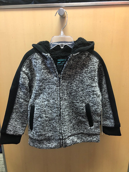 Burnside Zip Hoodie Jacket, Grey