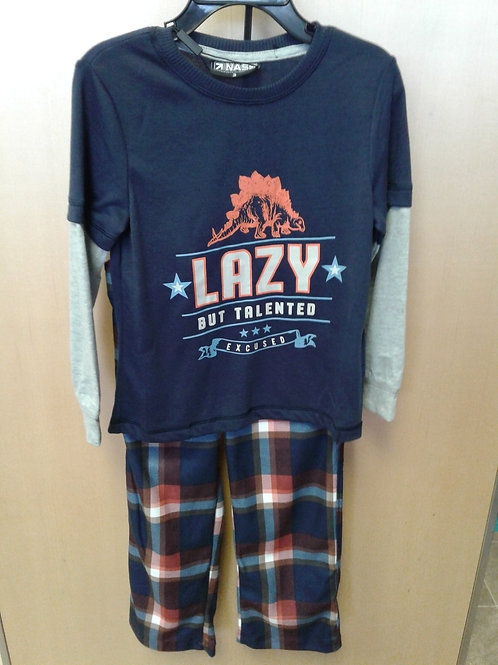 Lazy but talented PJ's, blue