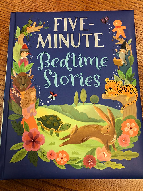 Five Minute Bedtime Stories Book