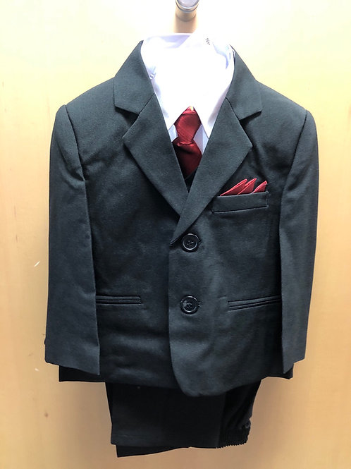 5 PC Suit, Black