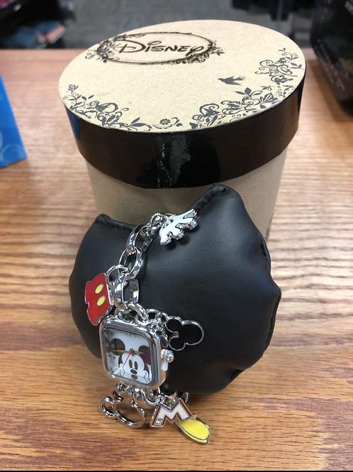 Ladies/Youth Disney Charm Bracelet Watch