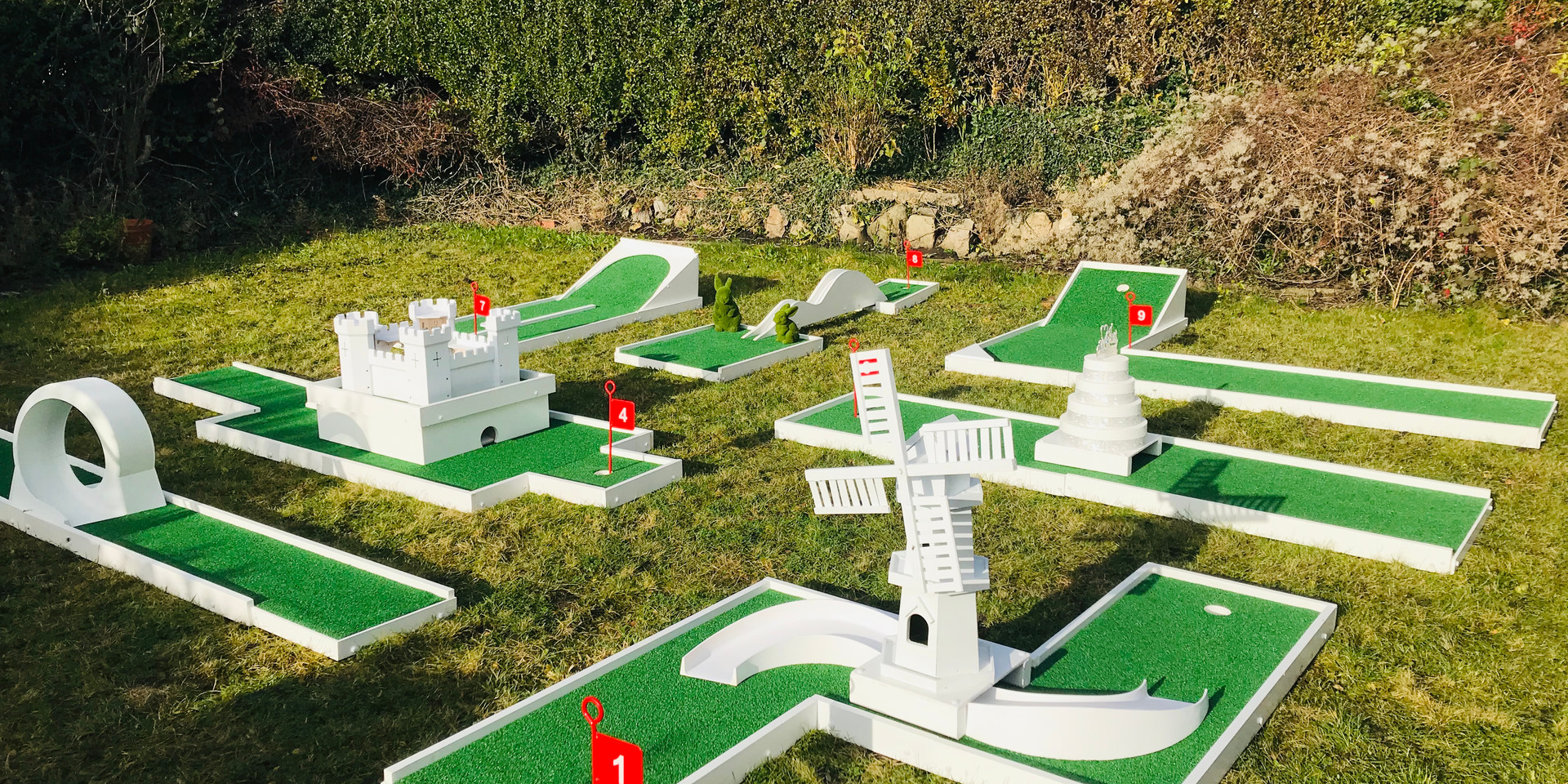 Wedding Mini Golf Hire
