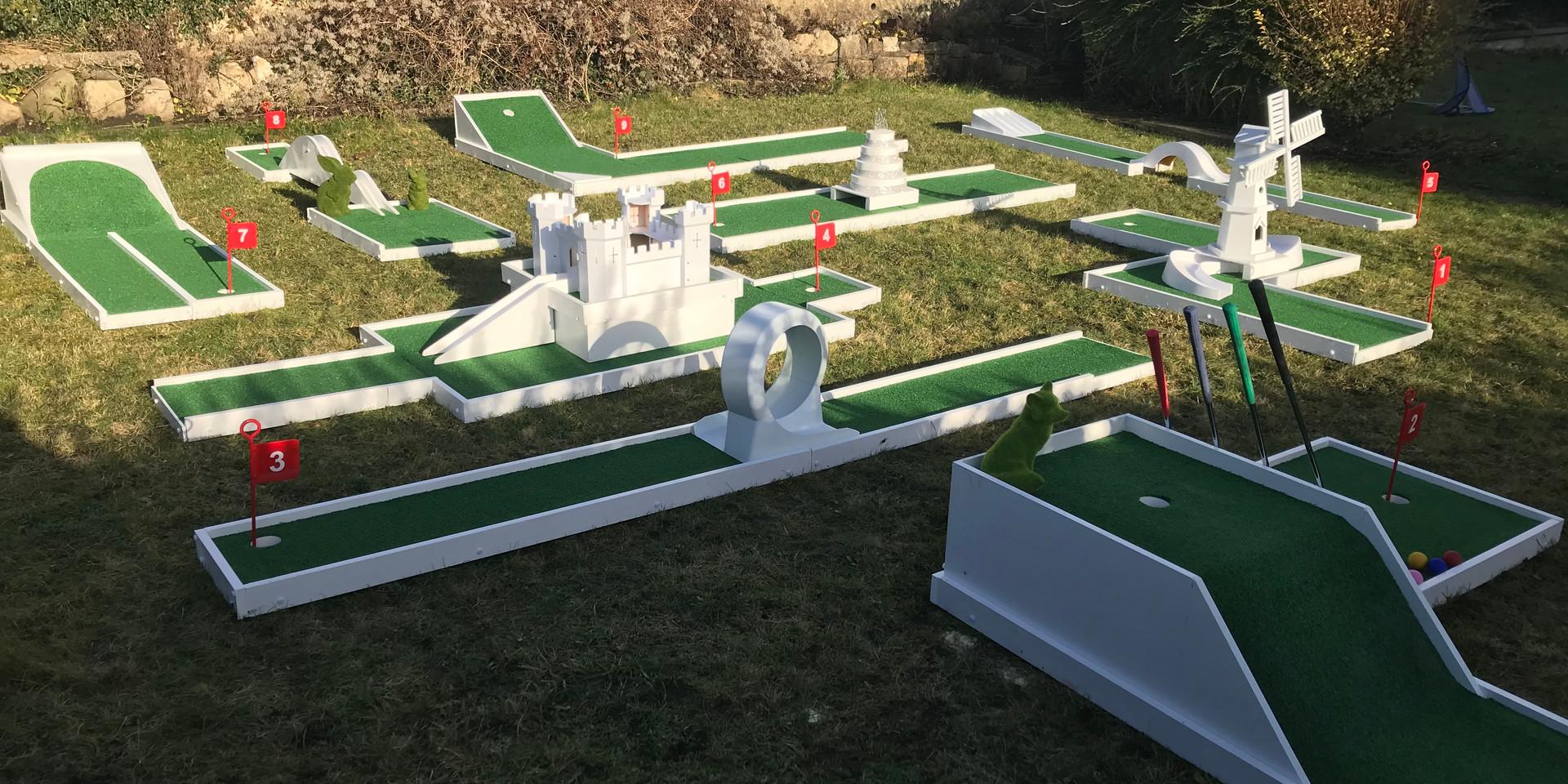 Portable Crazy Golf