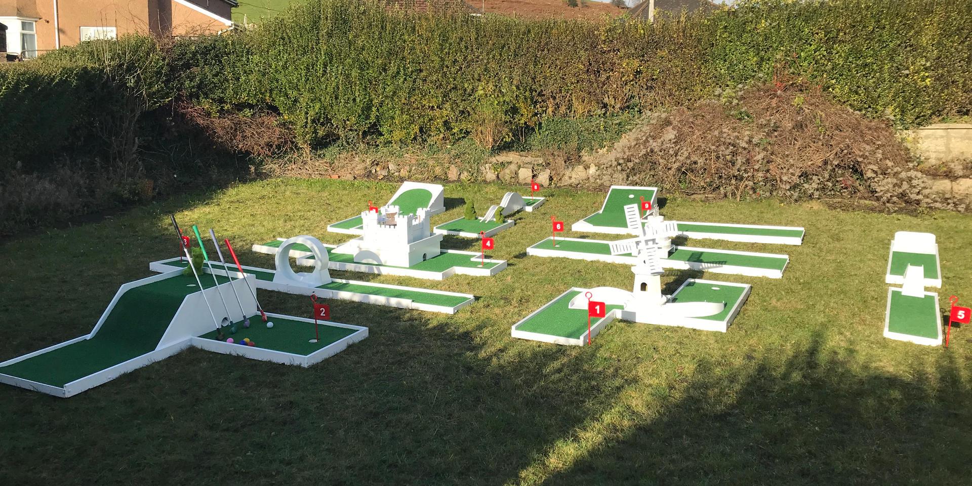 Mini Golf Hire Bristol