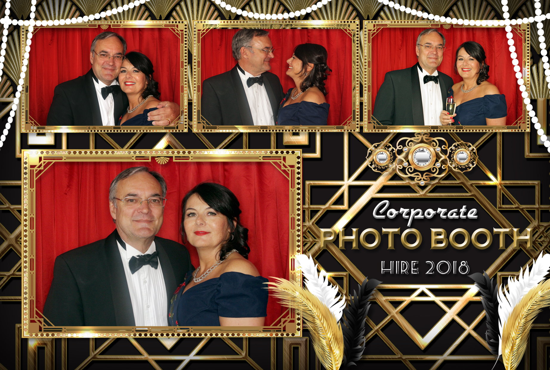 Gatsby Photo Booth Hire