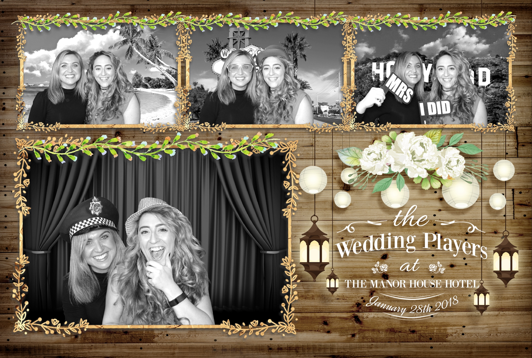 Rustic Photo Booth Hire