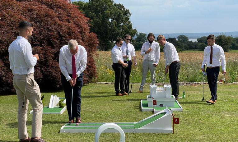 Wedding Crazy Golf Hire South Wales