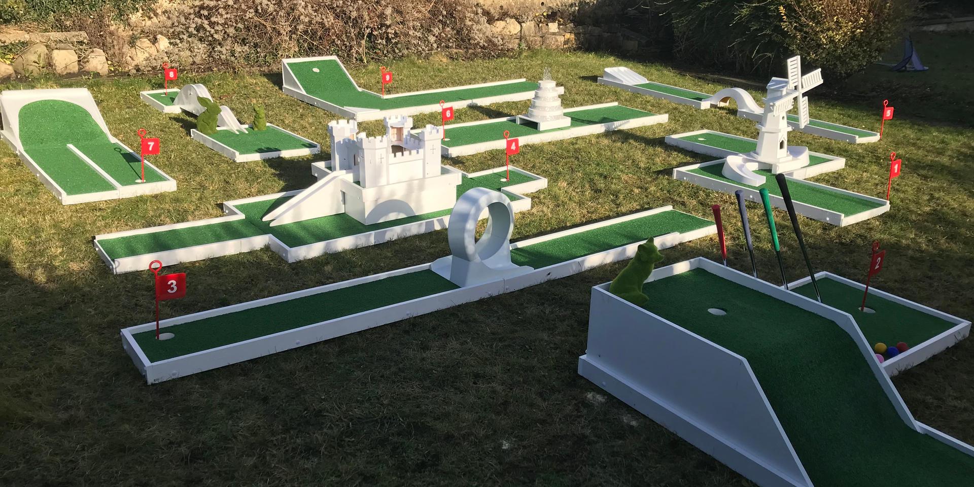 Crazy Golf Hire