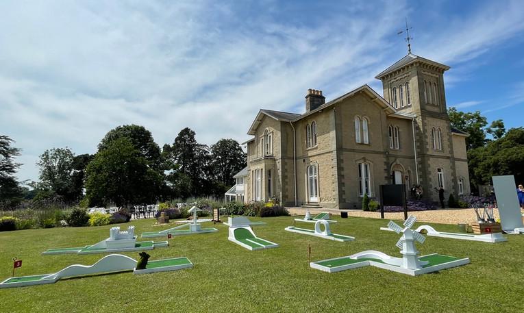 St Tewdrics House Mini Golf
