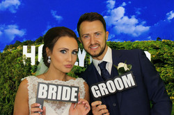 Photo Booth Bride & Groom