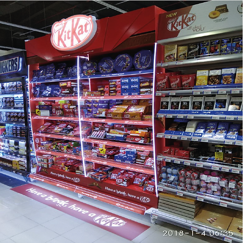 Category In Store Branding with LED