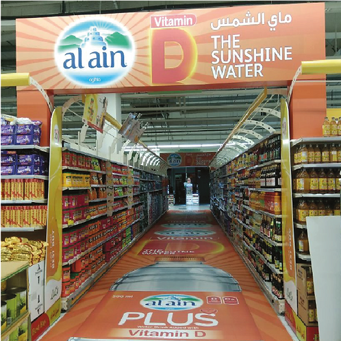 Category In Store Branding with Arch