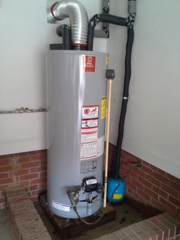 Improper Hot water heater