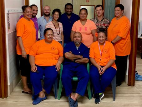 Rarotonga visit 2019