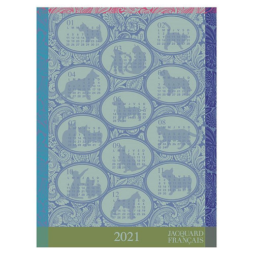 Limited Edition Calendar Tea Towel