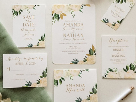 Should I order wedding invitations online?