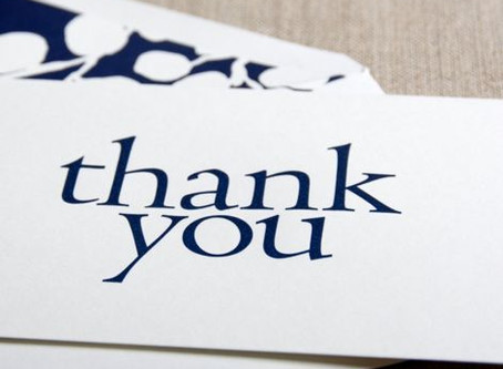 7 Steps to the Perfect Thank You Note