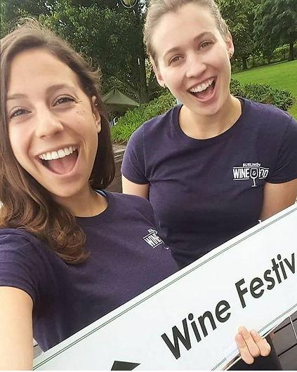 volunteer at Burlington wine & food festival