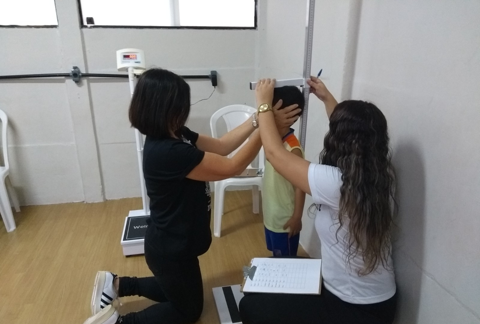 2019 Medicao Estatura Escola Particular.