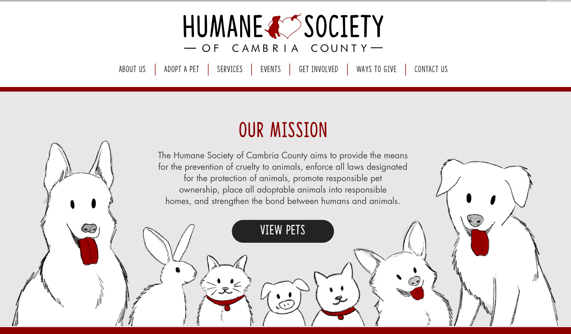Humane Society of Cambria County | Johnstown, PA