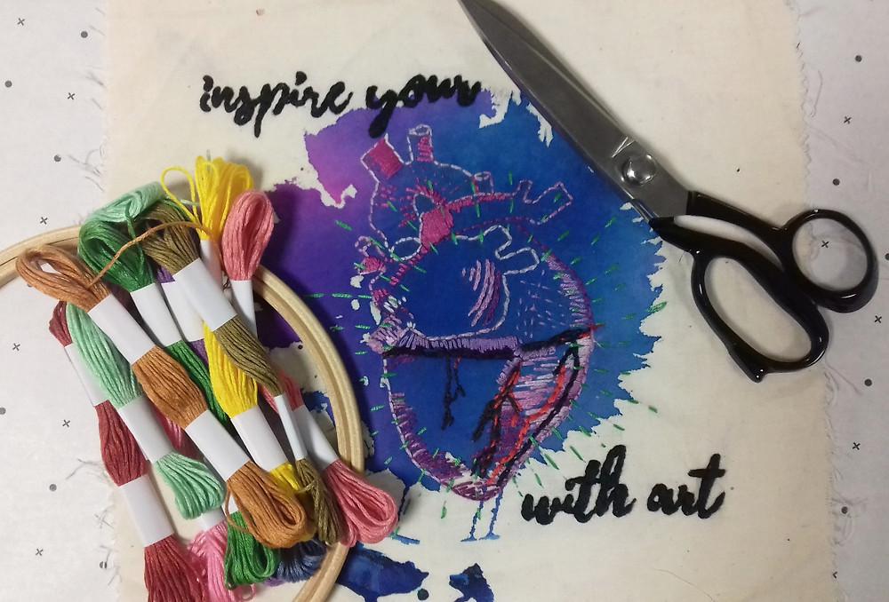 #inspireyourheartwithartday