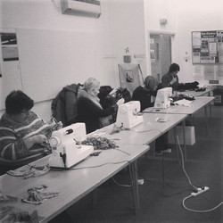 environment centre sewing workshop