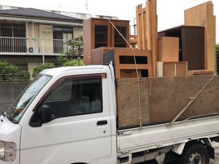 名古屋市南区にて引越し後の残置物撤去