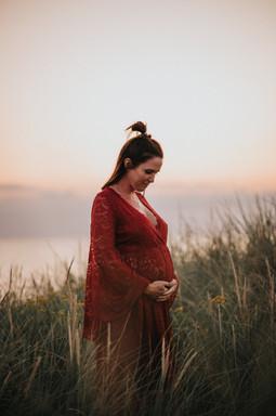 Gravidklänning med spets