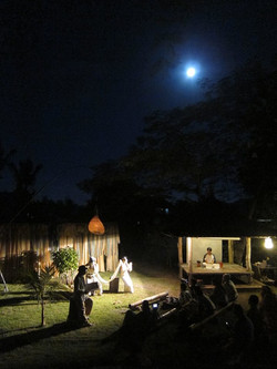 1 2015 ''moonlit forest '' at greenman's studio,Bali