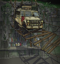 Fermin Bar with truck