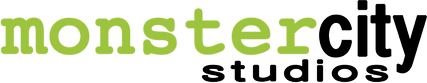 Monster City Studios Themed Environments Logo