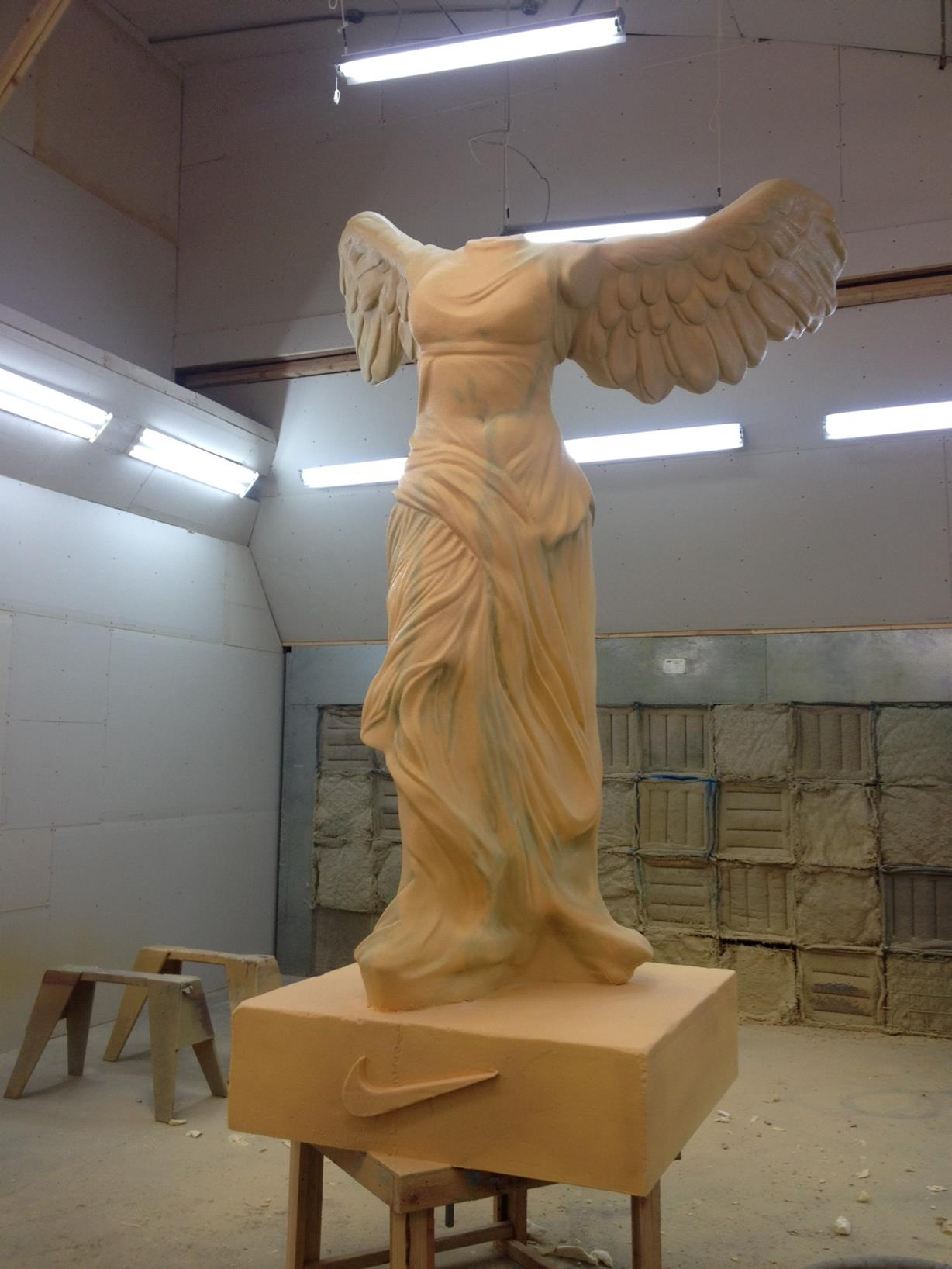 Goddess front with poly