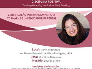 Certificação internacional para  tornar - se um educador parental