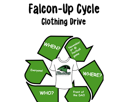 Staley Student Council is doing an Up-Cycle Spirit Wear Campaign this Friday