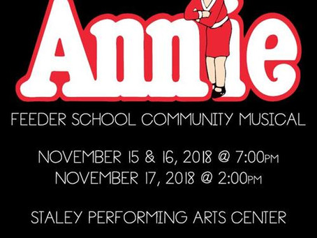 Staley High School Theatre Presents Annie