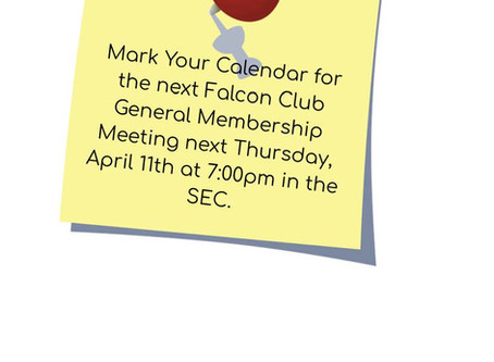 Falcon Club Meeting Reminder