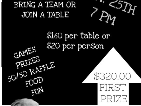 Staley Trivia Night 1/25/2019 @ 7:00pm Registration is Open