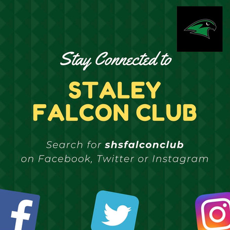 Stay Connected to Staley Falcon Club