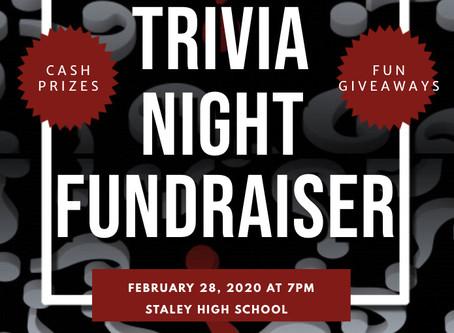 Staley Falcon Club Presents Trivia Night Fundraiser