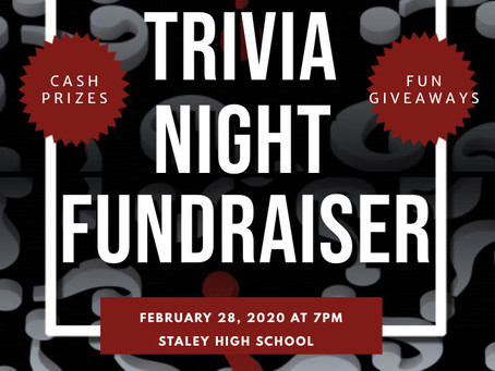 Staley Falcon Club Presents Trivia Night Fundraiser