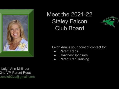 Meet the 2021-22 Staley Falcon Club Board