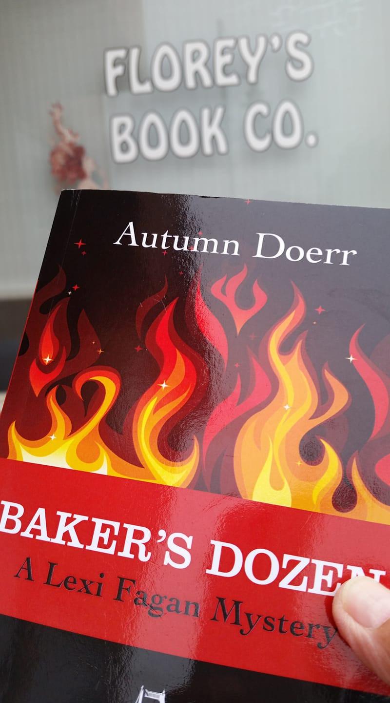 Baker's Dozen at Florey's Books Co. Pacifica