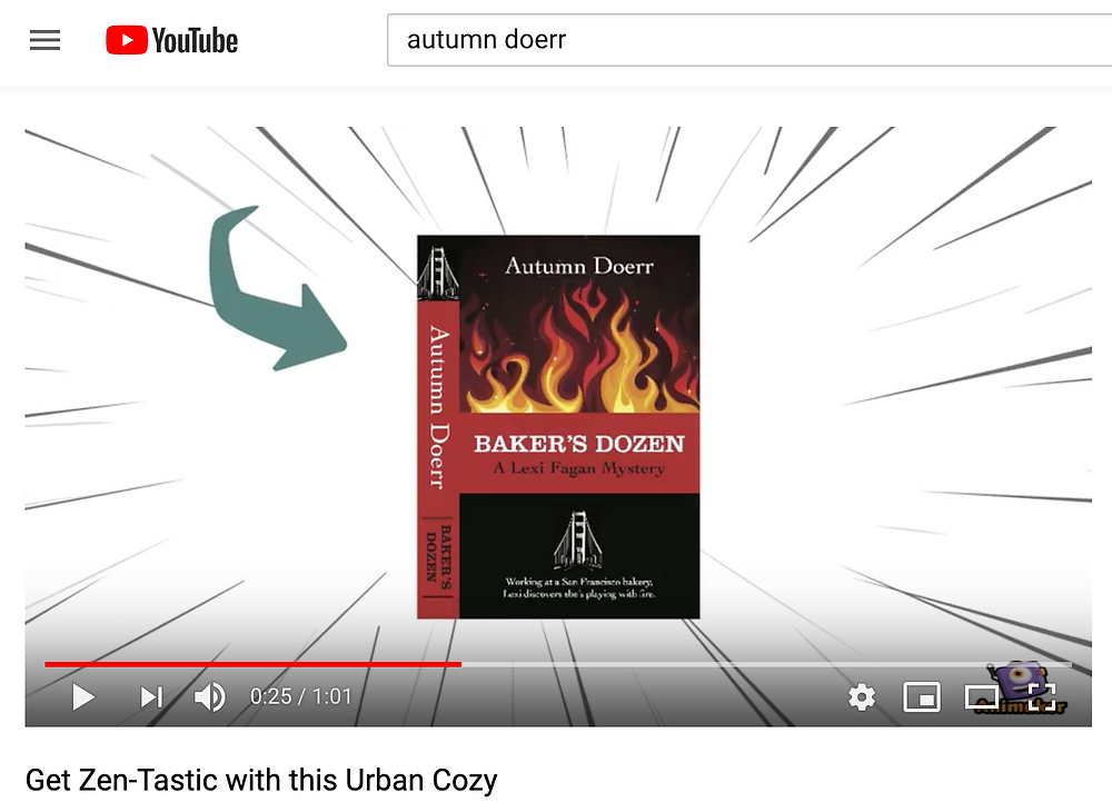 Market your book on youtube with short ads