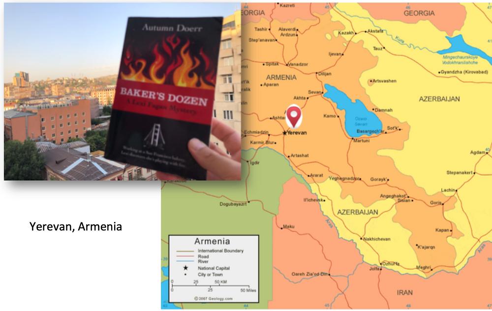 Armenia, book promotion, Baker's Dozen, market your book