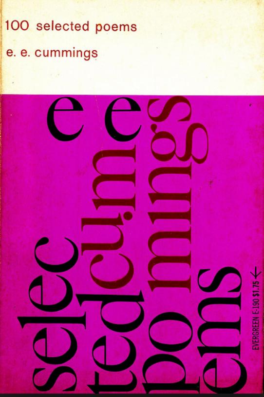 e.e. cummings 100 selected poems