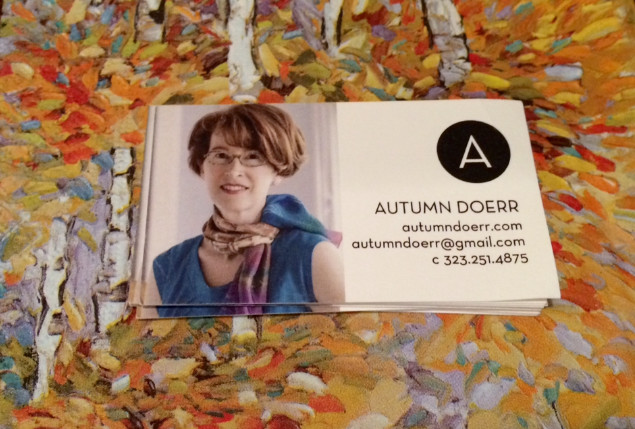 Autumn Doerr business card
